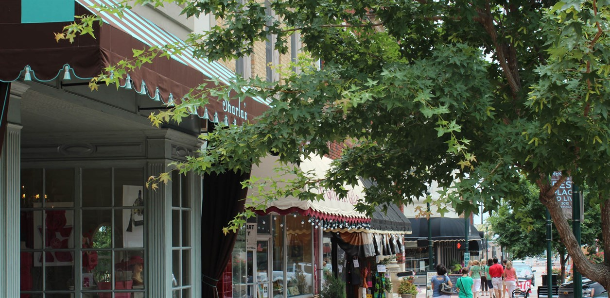 Downtown-McKinney-Shops